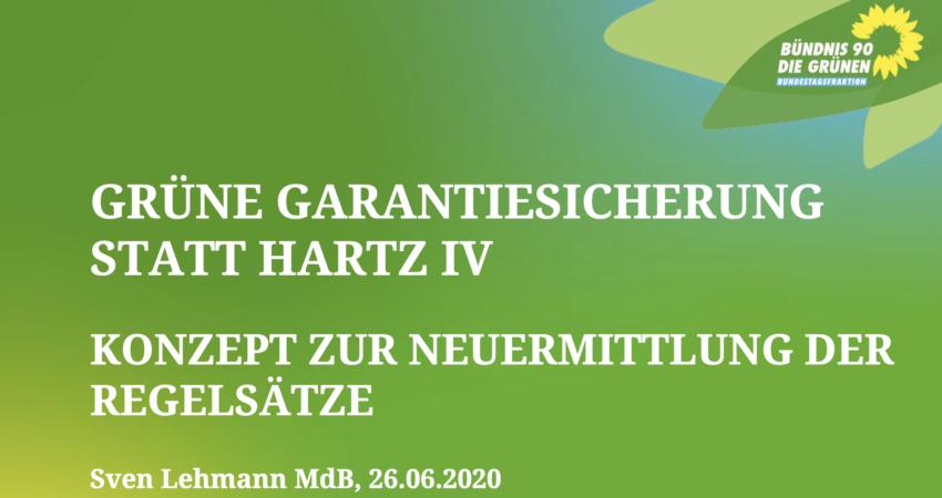 Grüne Garantiesicherung